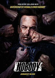 "Movie poster for ""NOBODY"""