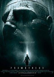 "Movie poster for ""PROMETHEUS"""