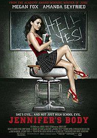 "Movie poster for ""JENNIFER'S BODY """