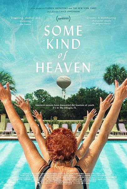 """Movie poster for """"SOME KIND OF HEAVEN"""""""