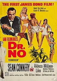 "Movie poster for ""Dr. No"""