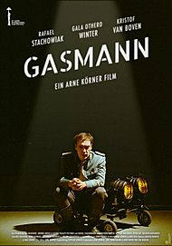 "Movie poster for ""GASMANN"""