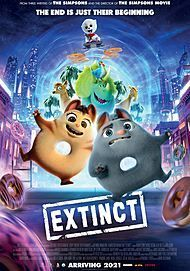 "Movie poster for ""EXTINCT"""