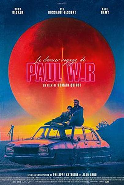 """Affiche du film """"LE DERNIER VOYAGE DE PAUL W.R"""""""