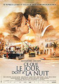 """Affiche du film """"CE QUE LE JOUR DOIT A LA NUIT"""""""