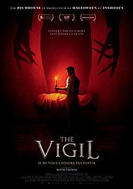 "Movie poster for ""THE VIGIL"""
