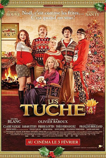 """Movie poster for """"LES TUCHE 4"""""""