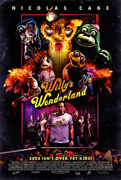 """Movie poster for """"WILLY'S WONDERLAND"""""""