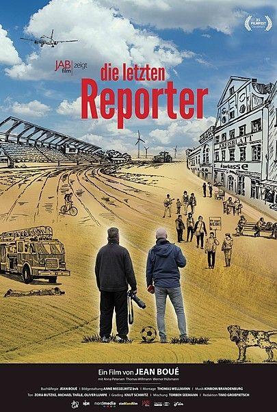 """Filmplakat für """"DIE LETZTEN REPORTER"""""""