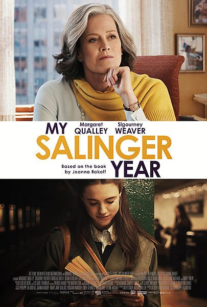 """Movie poster for """"MY SALINGER YEAR"""""""