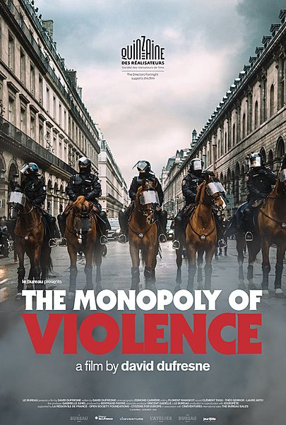"""Movie poster for """"THE MONOPOLY OF VIOLENCE"""""""