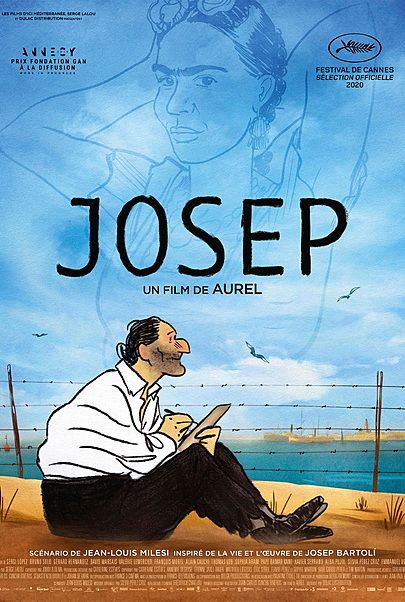 """Movie poster for """"JOSEP"""""""