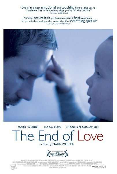"""Movie poster for """"THE END OF LOVE"""""""