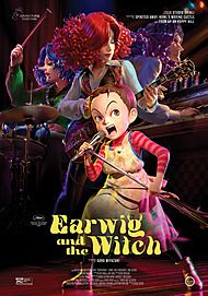 "Movie poster for ""EARWIG AND THE WITCH"""