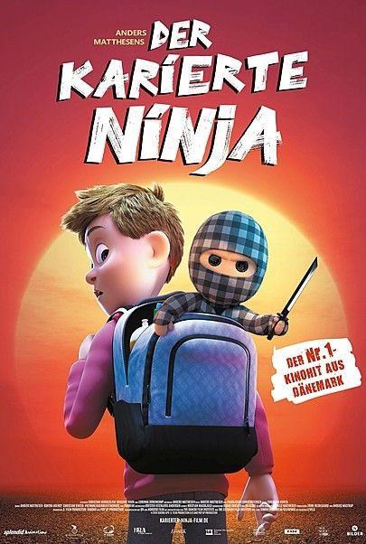 "Movie poster for ""CHECKERED NINJA"""