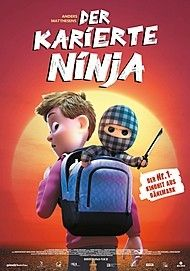 "Movie poster for ""CHECKERED NINJA"""
