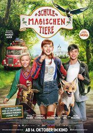 """Filmplakat für """"DIE SCHULE DER MAGISCHEN TIERE"""""""