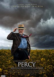 "Movie poster for ""PERCY"""