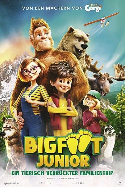 """Movie poster for """"BIGFOOT FAMILY"""""""