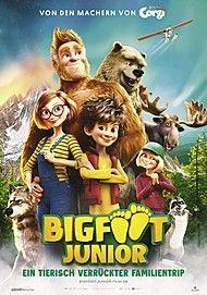 """Filmplakat für """"BIGFOOT JUNIOR - EIN TIERISCH VERRÜCKTER FAMILIENTRIP"""""""