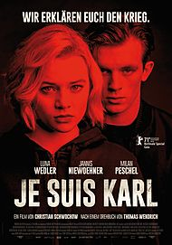 "Movie poster for ""JE SUIS KARL"""