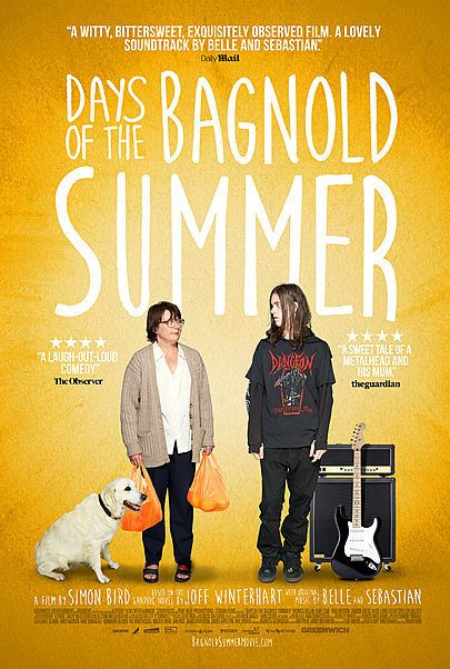 """Movie poster for """"DAYS OF THE BAGNOLD SUMMER"""""""
