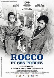 """Movie poster for """"ROCCO ET SES FRERES"""""""