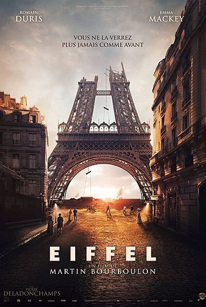 """Movie poster for """"EIFFEL"""""""