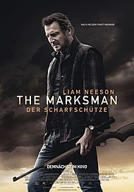 """Movie poster for """"THE MARKSMAN"""""""