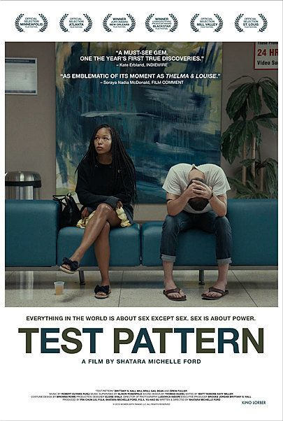 """Movie poster for """"TEST PATTERN"""""""