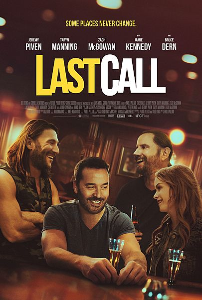 """Movie poster for """"LAST CALL"""""""