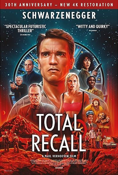 """Movie poster for """"TOTAL RECALL"""""""