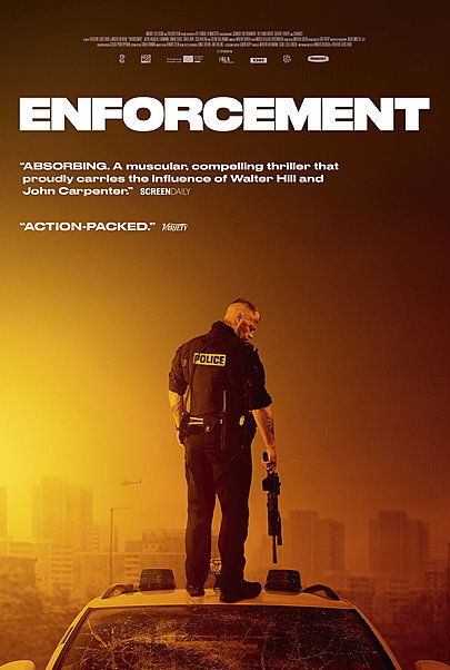 """Movie poster for """"ENFORCEMENT"""""""