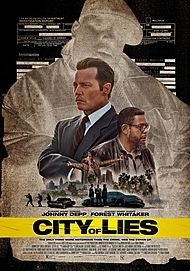 "Movie poster for ""CITY OF LIES"""