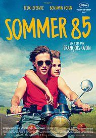 """Filmplakat für """"SOMMER 85"""""""