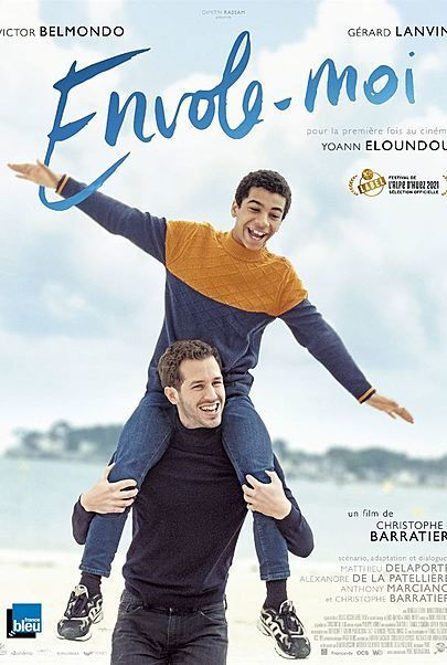 "Movie poster for ""ENVOLE-MOI"""