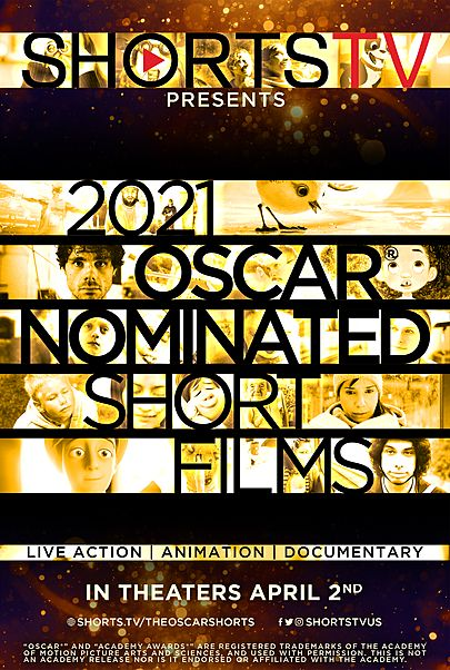 """Movie poster for """"2021 OSCAR SHORTS"""""""