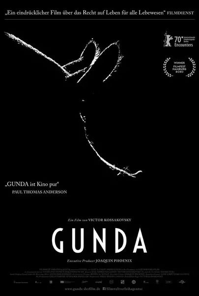 """Filmplakat für """"GUNDA"""""""
