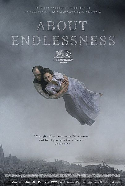 """Movie poster for """"ABOUT ENDLESSNESS"""""""