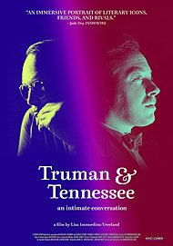 "Movie poster for ""TRUMAN & TENNESSEE: AN INTIMATE CONVERSATION"""