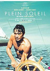"""Affiche du film """"PLEIN SOLEIL"""""""