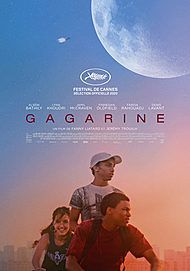 """Movie poster for """"GAGARINE"""""""