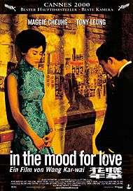 "Filmplakat für ""IN THE MOOD FOR LOVE"""