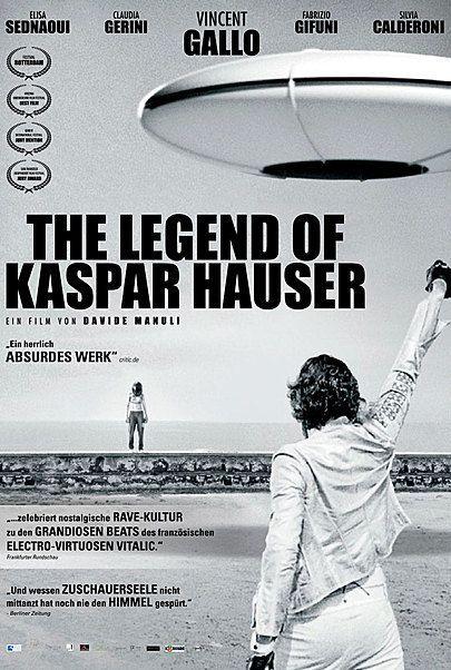 """Filmplakat für """"THE LEGEND OF KASPAR HAUSER"""""""