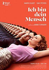 """Movie poster for """"ICH BIN DEIN MENSCH"""""""