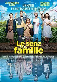 """Affiche du film """"LE SENS DE LA FAMILLE"""""""