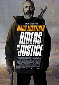 "Movie poster for ""RIDERS OF JUSTICE"""