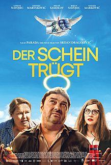 """Filmplakat für """"DER SCHEIN TRÜGT"""""""