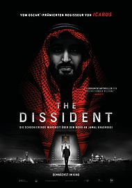 "Movie poster for ""THE DISSIDENT"""