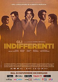 "Movie poster for ""Gli Indifferenti"""